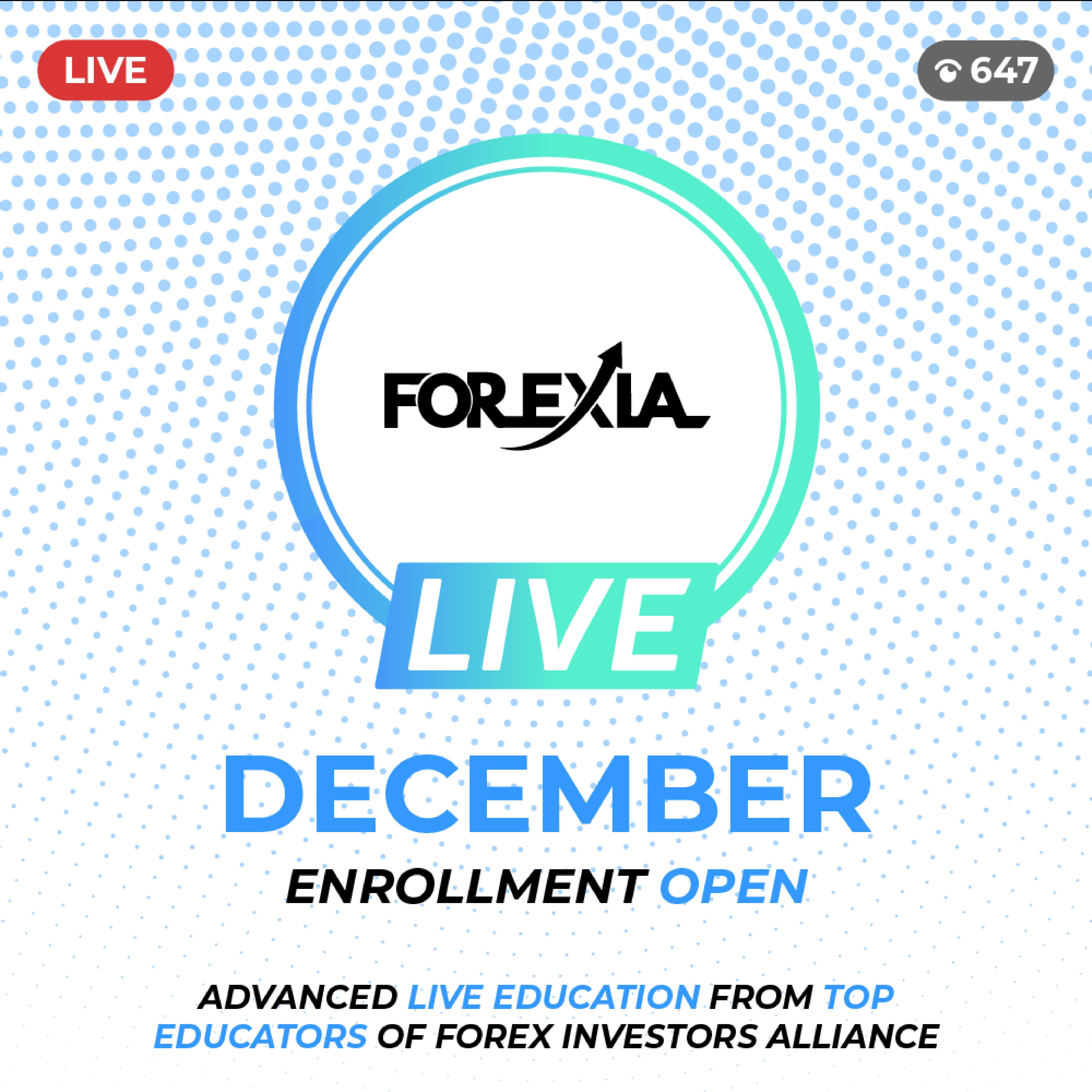 Forexia LIVE Recording – December 2018